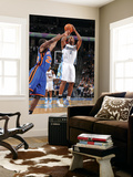 New York Knicks v Denver Nuggets: Chauncey Billups and Timofey Mozgov Prints by Garrett Ellwood