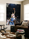 Washington Wizards v Detroit Pistons: Tayshaun Prince and JaVale McGee Prints by Allen Einstein