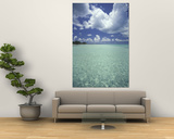 View of Rum Point on Grand Cayman, Cayman Islands, Caribbean Plakater af Robin Hill
