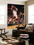 Charlotte Bobcats v Miami Heat: Dwyane Wade and Gerald Wallace Posters by Victor Baldizon
