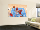 Chicago Bulls v Denver Nuggets: Chris Andersen and Joakim Noah Art by Garrett Ellwood