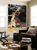 Miami Heat v Golden State Warriors: Chris Bosh and Andris Biedrins Posters by Rocky Widner
