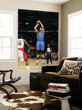Oklahoma City Thunder v Toronto Raptors: Byron Mullens and Amir Johnson Prints by Ron Turenne