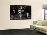 Golden State Warriors v Dallas Mavericks: Jason Terry, Alexis Ajinca and Andris Biedrins Prints by Glenn James
