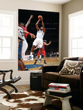 Toronto Raptors v Washington Wizards: Nick Young and Amir Johnson Posters by Ned Dishman