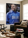 Detroit Pistons v Dallas Mavericks: Dirk Nowitzki Posters by Glenn James