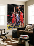 New Jersey Nets v Denver Nuggets: Nene, Kris Humpries and Brook Lopez Prints by Garrett Ellwood