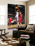 New Jersey Nets v Sacramento Kings: Luther Head and Brook Lopez Print by Don Smith