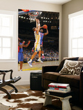 Detroit Pistons v Golden State Warriors: Rodney Stuckey and Andris Biedrins Prints by Rocky Widner