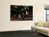 Miami Heat v Cleveland Cavaliers: Anderson Varejao, Jamario Moon and Dwyane Wade Posters by David Liam Kyle