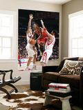 Chicago Bulls v Houston Rockets: Derrick Rose, Brad Miller and Luis Scola Prints by Bill Baptist