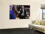 New York Knicks v Charlotte Bobcats: Mike D&#39;Antoni Poster by Streeter Lecka