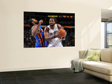 New York Knicks v Denver Nuggets: Nene Poster by Garrett Ellwood