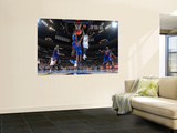 New York Knicks v Denver Nuggets: Ty Lawson and Amar'e Stoudemire Prints by Garrett Ellwood