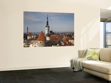 View of Old Town From Toompea, Late Afternoon, Tallinn, Estonia Posters by Walter Bibikow