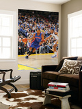 Detroit Pistons v Golden State Warriors: Jeff Adrien and Tracy McGrady Prints by Rocky Widner
