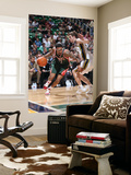 Milwaukee Bucks v Utah Jazz: Gordon Hayward, Chris Douglas-Matthews Print by Melissa Majchrzak