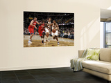 Philadelphia 76ers v Cleveland Cavaliers: Ramon Sessions and Jrue Holiday Prints by David Liam Kyle
