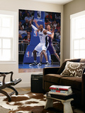 Phoenix Suns v Orlando Magic: Dwight Howard and Hedo Turkoglu Prints by Andrew Bernstein