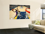 Detroit Pistons v Memphis Grizzlies: Rodney Stuckey and Zach Randolph Prints by Joe Murphy