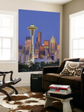 Skyline From Kerry Park, Seattle, Washington, USA Art by Jamie & Judy Wild