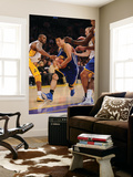 Golden State Warriors v Los Angeles Lakers: Jeremy Lin and Kobe Bryant Prints by Noah Graham