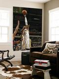 Atlanta Hawks v Indiana Pacers: Roy Hibbert Affiche par Ron Hoskins