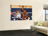 Cleveland Cavaliers v Indiana Pacers: Joey Graham and Brandon Rush Posters by Ron Hoskins