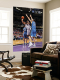 Washington Wizards v Sacramento Kings: DeMarcus Cousins and JaVale McGee Prints by Rocky Widner