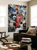 New Jersey Nets v Utah Jazz: Brook Lopez and Deron Williams Prints by Melissa Majchrzak