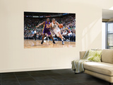 Los Angeles Lakers v Utah Jazz: Andrei Kirilenko and Ron Artest Poster by Melissa Majchrzak