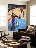 New York Knicks v Denver Nuggets: Al Harrington Print by Garrett Ellwood