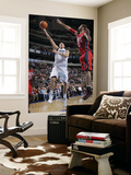 New Jersey Nets v Dallas Mavericks: Dirk Nowitzki and Brook Lopez Prints by Glenn James