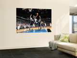 San Antonio Spurs v Minnesota Timberwolves: Matt Bonner, Corey Brewer and George Hill Print by David Sherman
