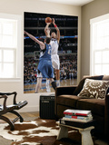 Minnesota Timberwolves v Dallas Mavericks: Dirk Nowitzki and Kevin Love Prints by Glenn James