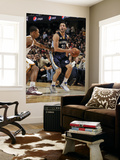 Memphis Grizzlies v Cleveland Cavaliers: Greivis Vasquez and Ramon Sessions Print by David Liam Kyle