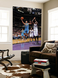 New Orleans Hornets v Sacramento Kings: Marco Belinelli and Samuel Dalembert Posters by Rocky Widner