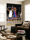 Detroit Pistons v Golden State Warriors: Tayshaun Prince and Dorell Wright Prints by Rocky Widner