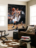 San Antonio Spurs v Minnesota Timberwolves: Darko Milicic and Tim Duncan Posters by David Sherman