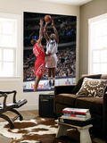 Houston Rockets v Dallas Mavericks: Caron Butler and Shane Battier Poster by Glenn James