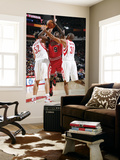 Chicago Bulls v Houston Rockets: Luol Deng, Brad Miller and Shane Battier Posters by Bill Baptist