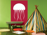 Red Jellyfish Posters by  Avalisa