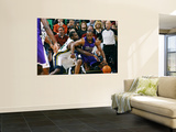 Sacramento Kings v Utah Jazz: Paul Millsap and Carl Landry Prints by Melissa Majchrzak