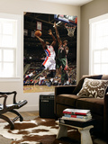 Milwaukee Bucks v Detroit Pistons: Rodney Stuckey and Larry Sanders Prints by Allen Einstein
