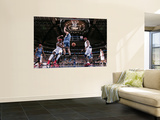 Minnesota Timberwolves v Dallas Mavericks: Jason Terry, Brendan Haywood and Darko Milicic Art by Glenn James