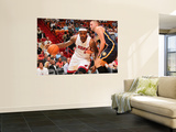 Indiana Pacers v Miami Heat: LeBron James and Josh McRoberts Posters by Victor Baldizon