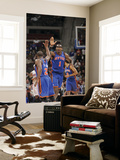 New York Knicks v Detroit Pistons: Amar'e Stoudemire and Raymond Felton Posters by Allen Einstein