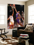 Phoenix Suns v Miami Heat: Channing Frye and Juwan Howard Posters by Victor Baldizon