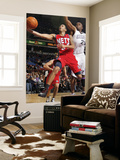 New Jersey Nets v Sacramento Kings: Devin Harris and Carl Landry Prints by Don Smith