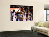 Denver Nuggets v Phoenix Suns: Hedo Turkoglu, Josh Childress and Channing Frye Posters by Christian Petersen